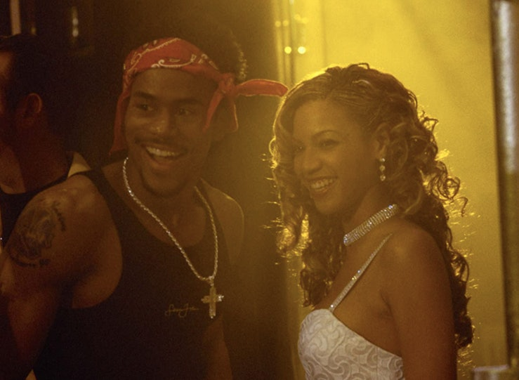 Beyonce and Casey Lee in 'Carmen: A Hip-Hopera.'