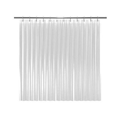 LiBa PEVA Bathroom Shower Curtain Liner