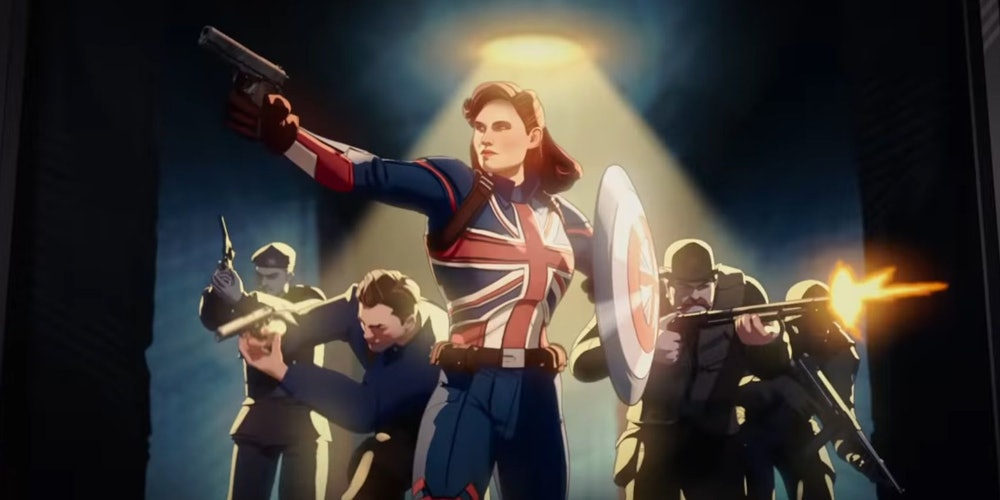 Peggy Carter becomes Captain America in What If...?
