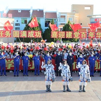 Watch — China sends its first crewed mission to Tiangong space station