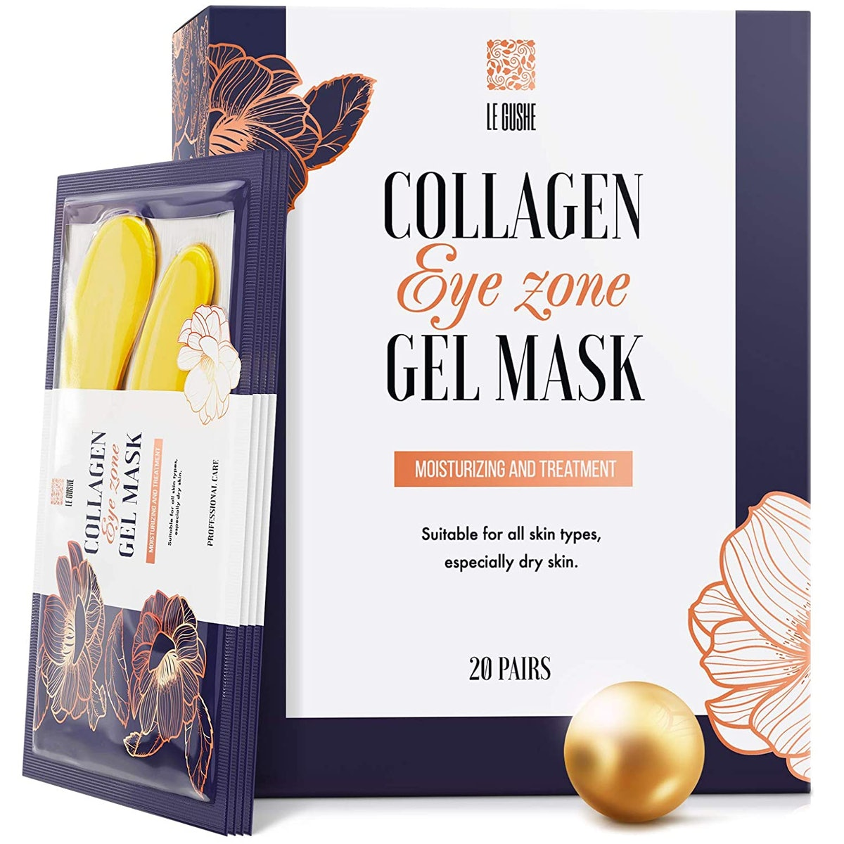 Le Gushe  24K Gold Under Eye Patches