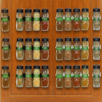 SimpleHouseware Spice Gripper Clip Strips (30-Count)