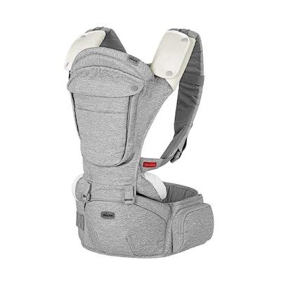 Chicco Sidekick Plus 3-in-1 Hip Seat Carrier in Titanium