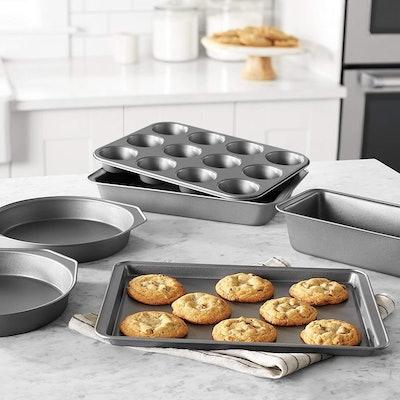 Amazon Basics Nonstick Baking Set (6-Piece)