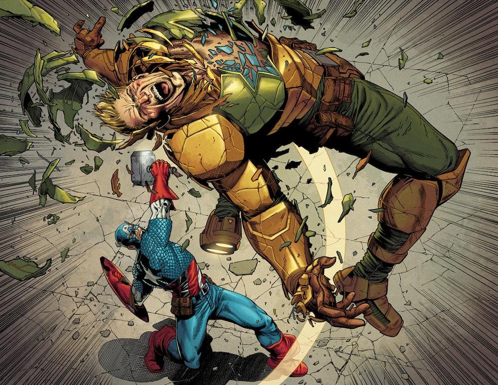Captain America vs. evil Captain America