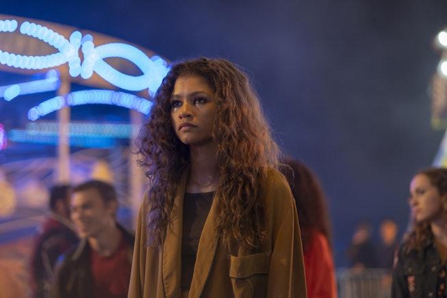 Zendaya teased the second season of 'Euphoria' on HBO.