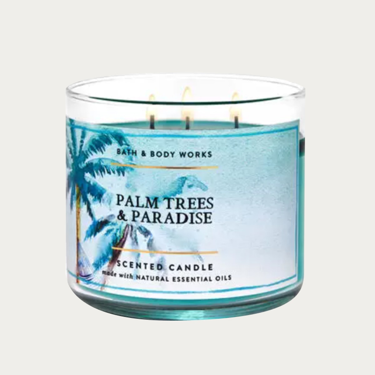 Palm Trees & Paradise 3-Wick Candle
