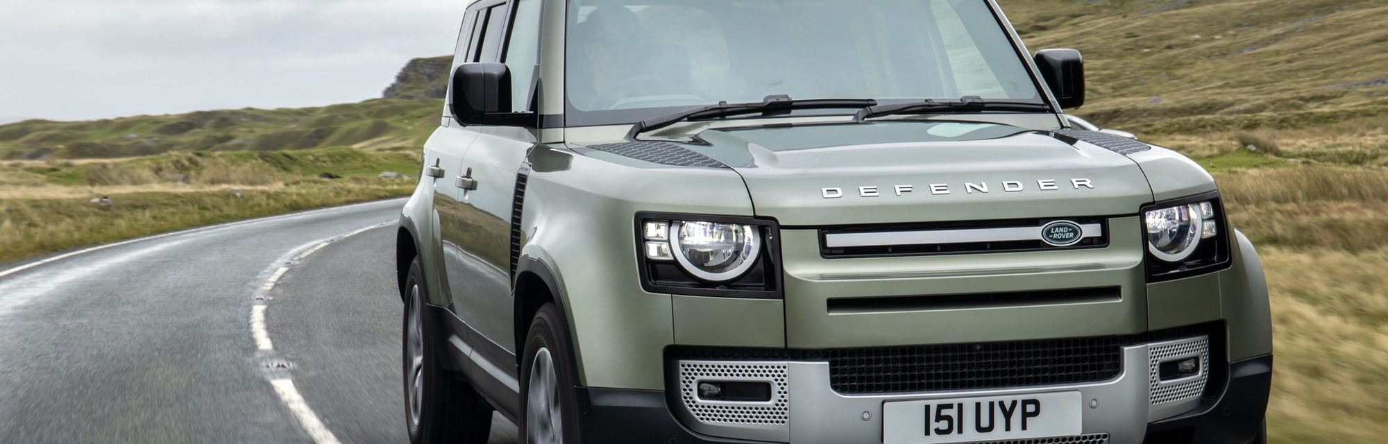 The Land Rover Defender