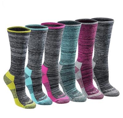 Dickies Dri-Tech Advanced Moisture Wicking Crew Sock (6-Pack)
