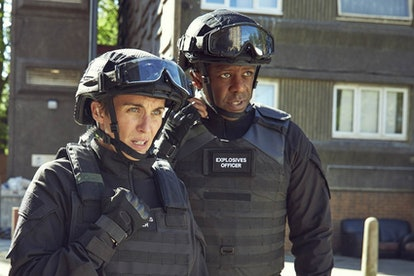 Adrian Lester and Vicky McClure in ITV's 'Trigger Point'