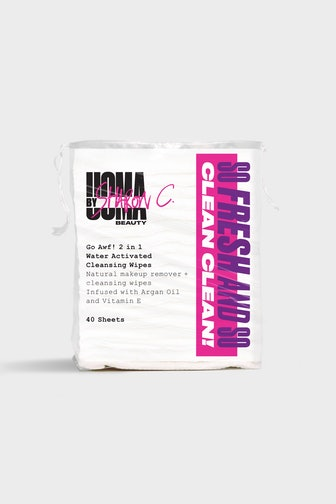 GO AWF! 2 IN 1 WATER-ACTIVATED CLEANSING WIPES