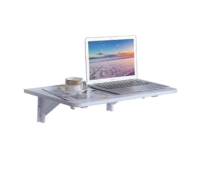 9 Plus Wall Mounted Floating Folding Table
