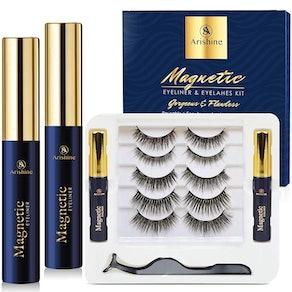Arishine Reusable Magnetic Eyelashes (5-Pack)