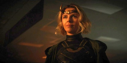 Sophia Di Martino as the Variant who may or may not be an easter egg in human form in 'Loki'
