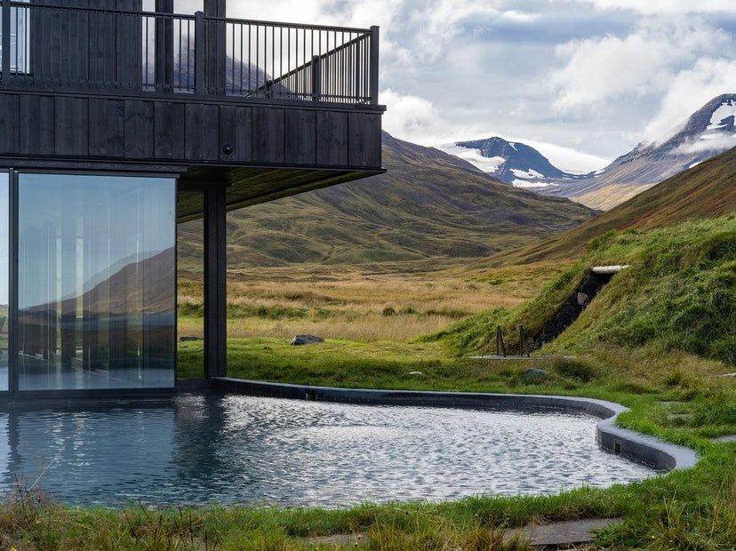 Deplar Farm in Iceland makes for an ideal wellness getaway.