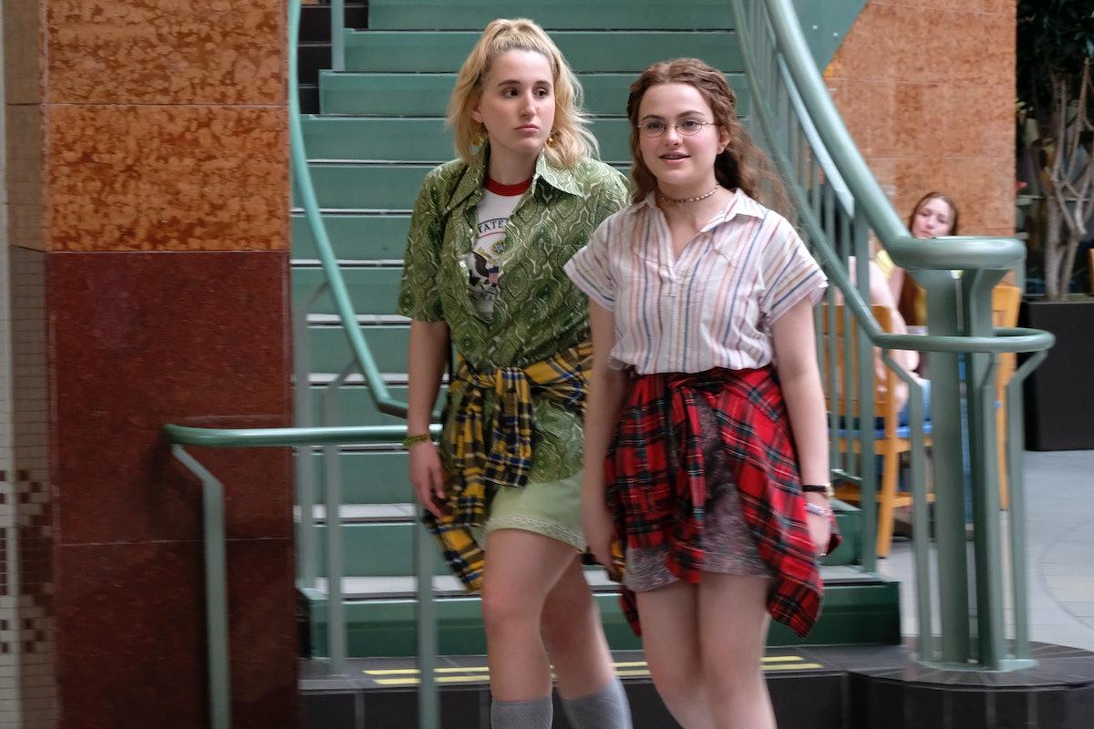 HARLEY QUINN SMITH as Mallory and CHIARA AURELIA as Kate in Freeform's 'Cruel Summer'
