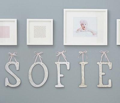 Monique Lhuillier Ribbon Letters