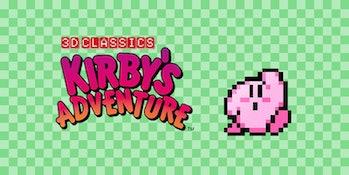kirby's adventure loading screen