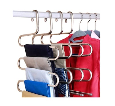 DOIOWN S-Type Stainless Steel Clothes Hanger