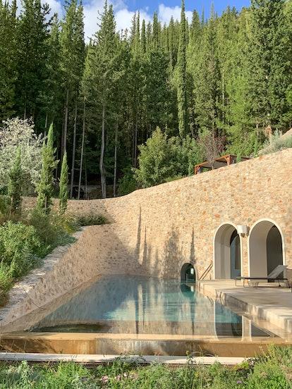 Euphoria Retreat in Mystras, Greece makes the perfect wellness getaway.