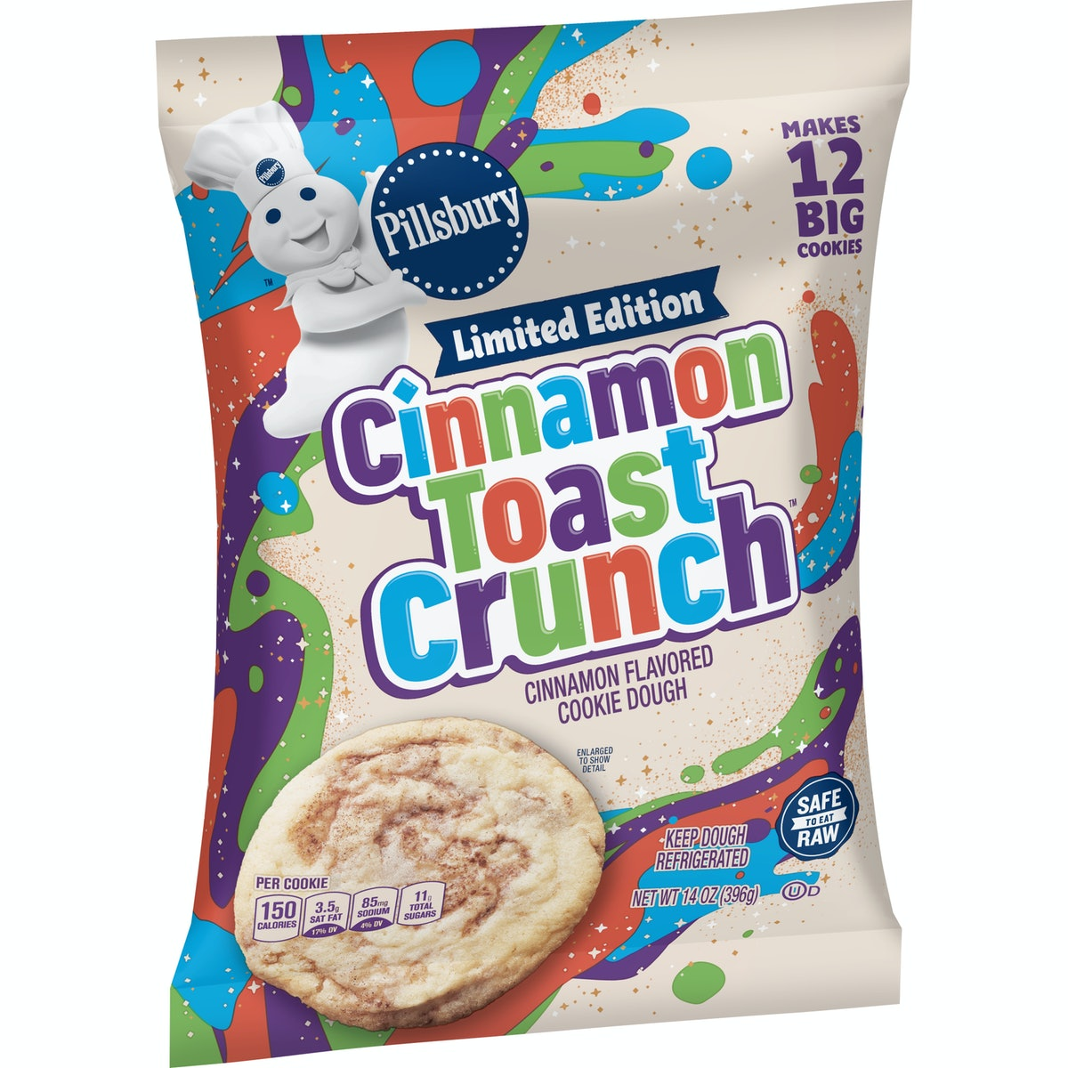 Here's where to buy Pillsbury's Cinnamon Toast Crunch Cookie Dough and Cinnamon Rolls for a sweet bite.