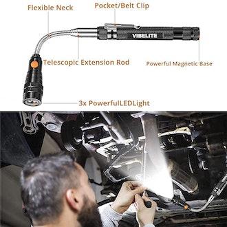 VIBELITE Magnetic Pickup Tool with LED Light