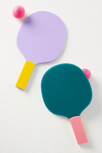 Edie Parker Table Tennis Game