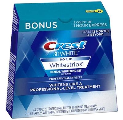 Crest 3D White Professional Effects Whitestrips Teeth Whitening Kit
