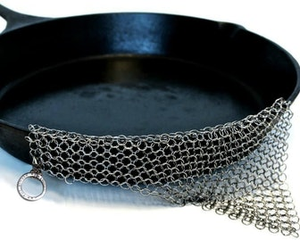 The Ringer The Original Stainless Steel Cast Iron Cleaner