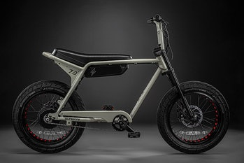 Super73 has unveiled the Super73-ZX, it's latest lightweight electric bike.