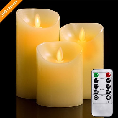 YIWER Flameless Candles (3-Pack)