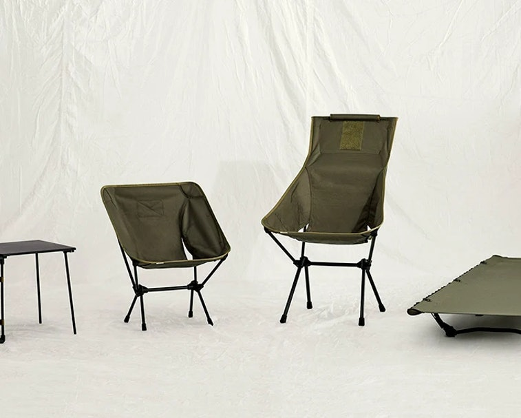 The Tactical Collection from Helinox is a line of ultralight, durable outdoor furniture for working ...