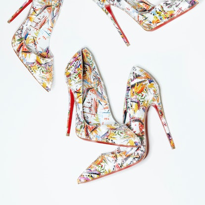 Christian Louboutin Sabrina Idris Elba Walk a mile in my shoes collection