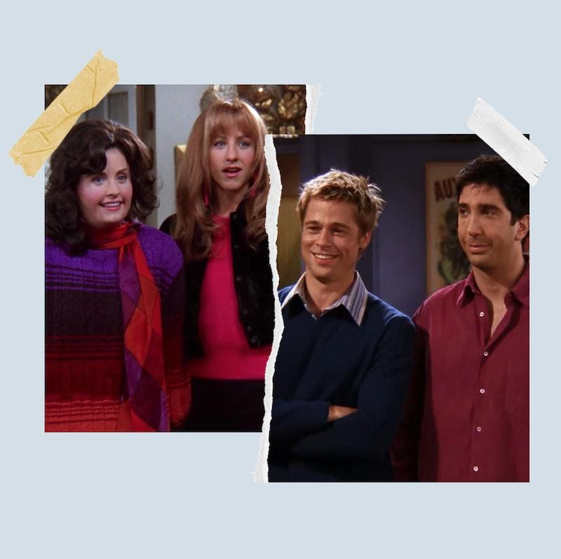 Monica, Rachel, Will, and Ross in Friends.