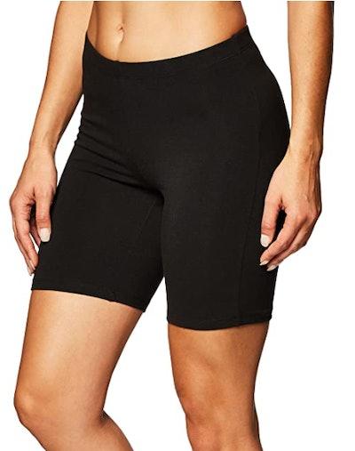 Hanes Stretch Jersey Bike Shorts
