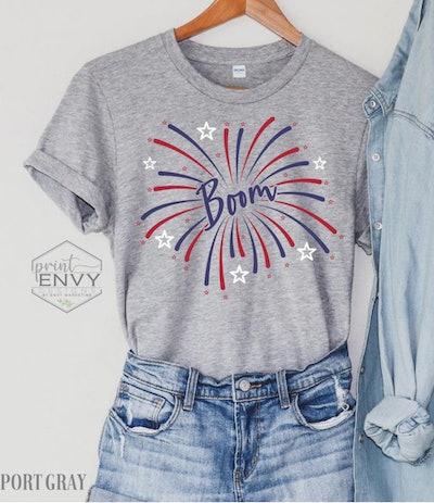 Boom Fireworks Shirt