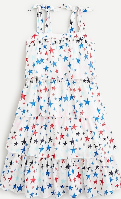 Tiered Dress in Print