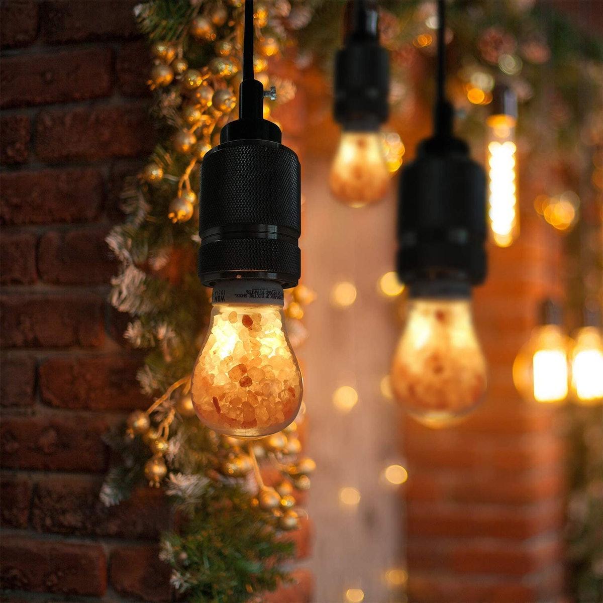 Himalayan Salt Glow LED Dimmable Light Bulbs (2-Pack)