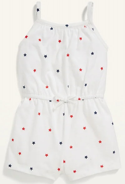 Sleeveless Jersey Romper for Baby