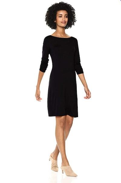 Daily Ritual Bateau-Neck T-Shirt Dress