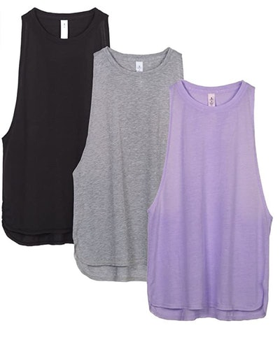 icyzone Workout Tank Tops (3-Pack)