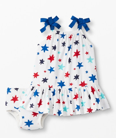 Baby Dress & Bloomer Set