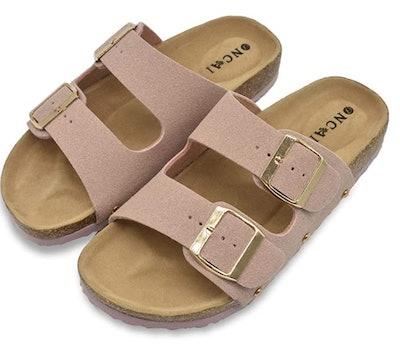 ONCAI Flat Slide Sandals