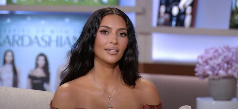 Kim Kardashian at 'KUWTK' reunion.