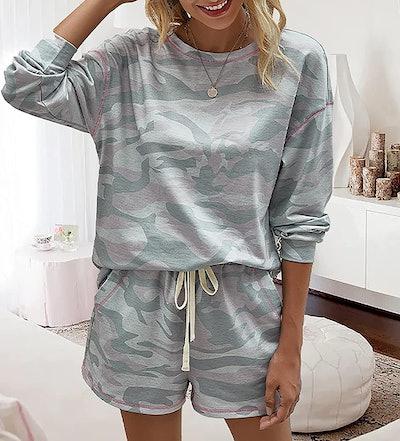 BTFBM Two Piece Pajama Set