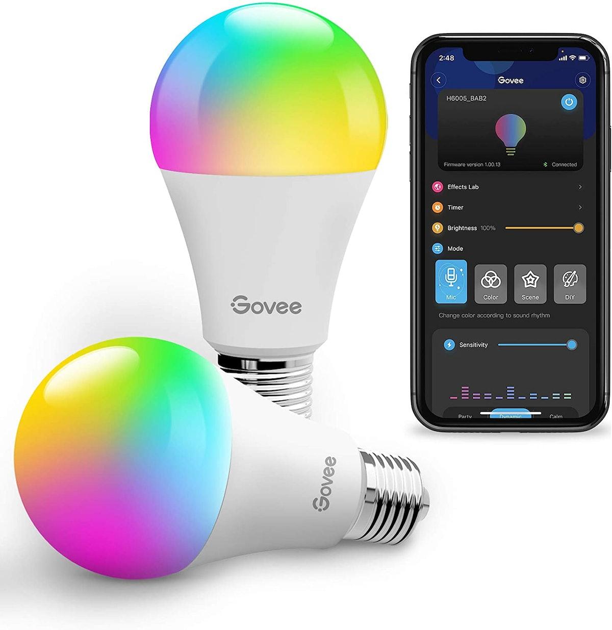 Govee Smart Color Changing LED Bulbs