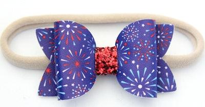 Firework Bow Headband