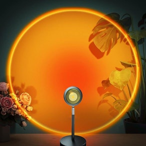 BWOU Sunset Lamp Projector