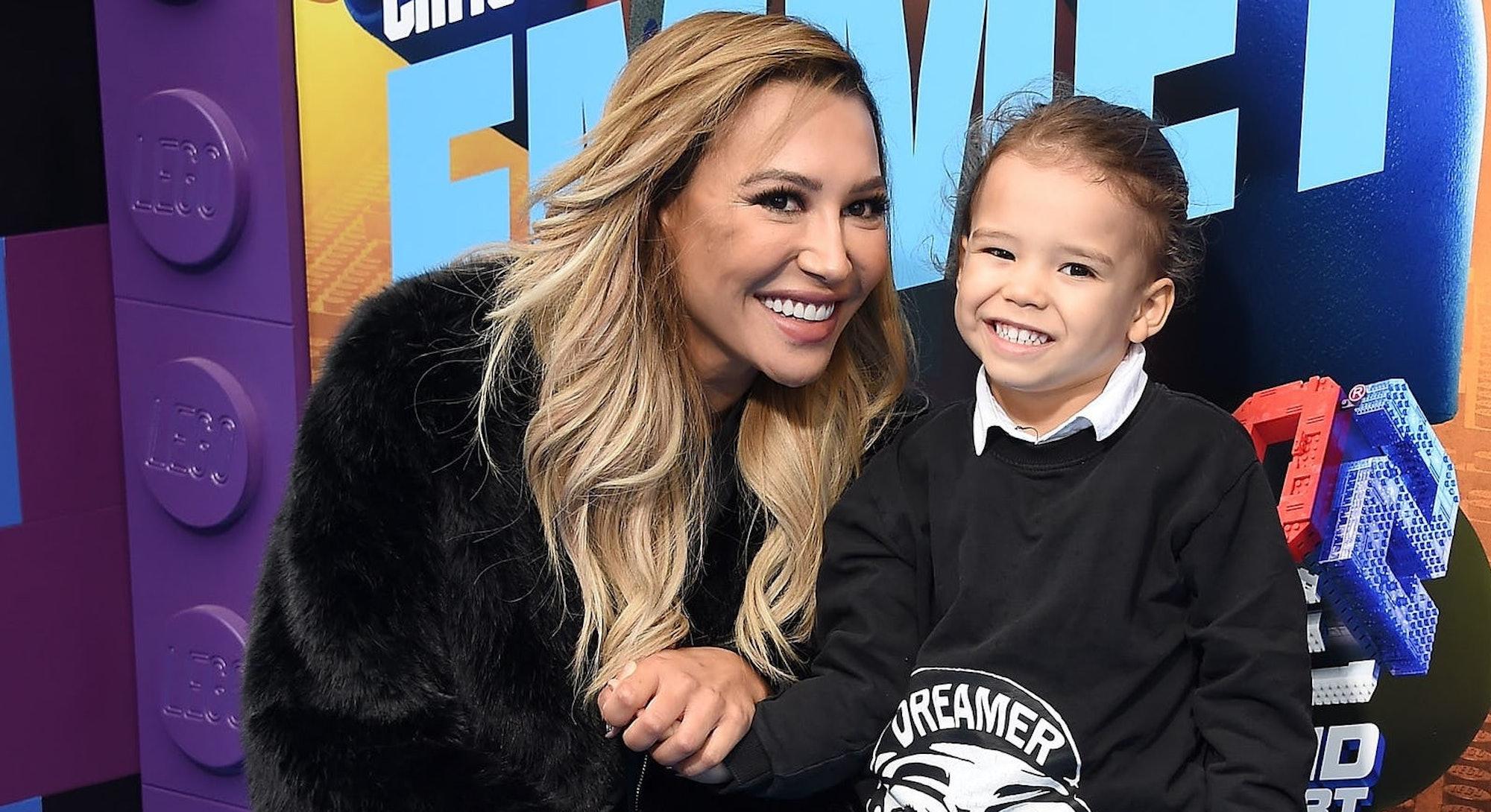 Naya Rivera and her child Josey Hollis in 2019.
