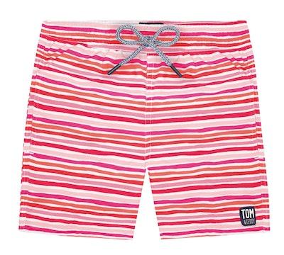 Swim Shorts, Sunset Stripes